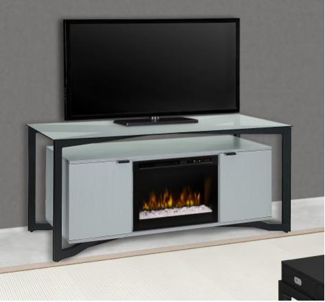 Christian Media Console Electric Fireplace