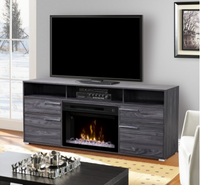 Sander Media Console Electric Fireplace