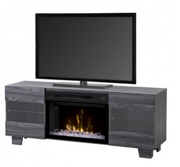 Max Media Console Electric Fireplace