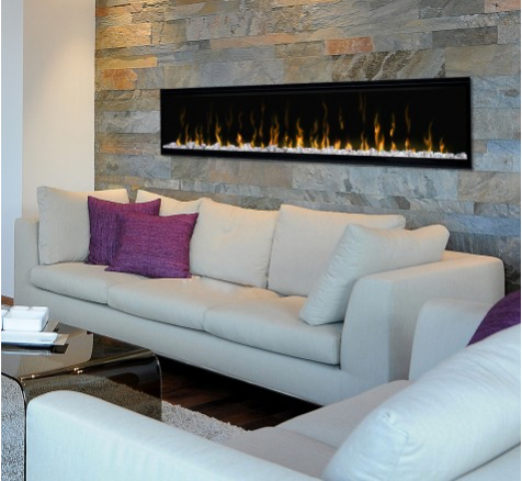 "IgniteXL™ 74"" Linear Electric Fireplace"