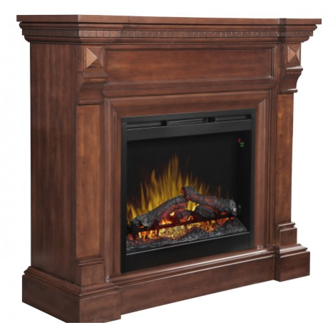 William Mantle- Dimplex Electric Fireplace