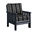 Stratford Deep Seat Chair Black #14