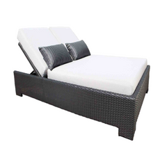 Chorus Square Outdoor Daybed by Cabana Coast