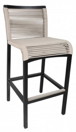 Cabana Coast Cove Bar Stool. Outdoor Patio Bar Set