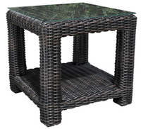 "Aubrey 24"" Square Side Table"