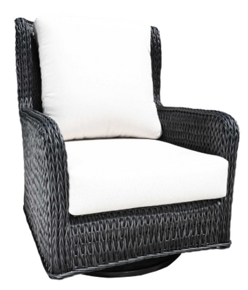 Hudson Wing Swivel Chair