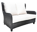 Hudson Wing Loveseat