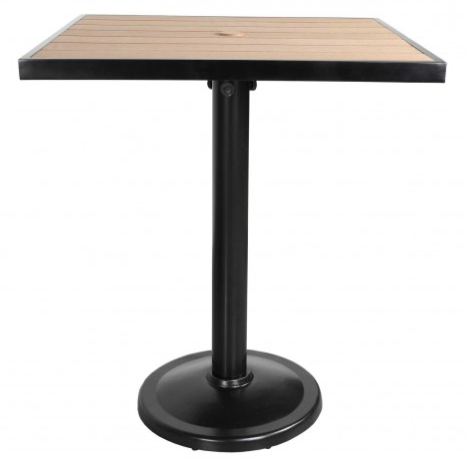 "Kensington 32"" Square Pedestal Balcony Table"