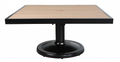 "Kensington 32"" Square Pedestal Coffee Table"