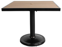 "Kensington 32"" Square Pedestal Dining Table"