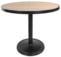 "Kensington 42"" Round Pedestal Bar Table"