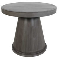 "Boardwalk 23"" Round Side Table"