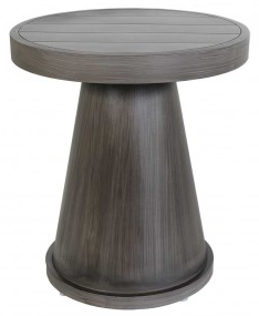 "Boardwalk 16"" Round Side Table"