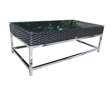 "Sidney 48"" Coffee Table by Cabana Coast - Black"