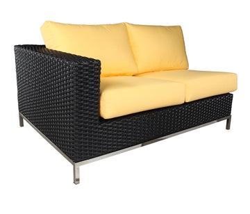 Sidney Sectional Left Modue by Cabana Coast - Black