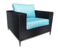 Sidney Outdoor Wicker Lounge Chair