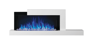 Stylus Wallmount Electric Fireplace