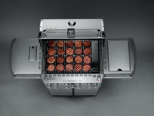 Weber Summit S470 Gas Grill Natural Gas - Top View
