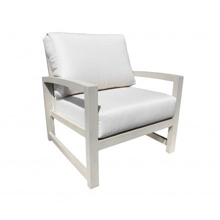 Cabana Coast Venice Deep Seat Lounge Chair - Dove