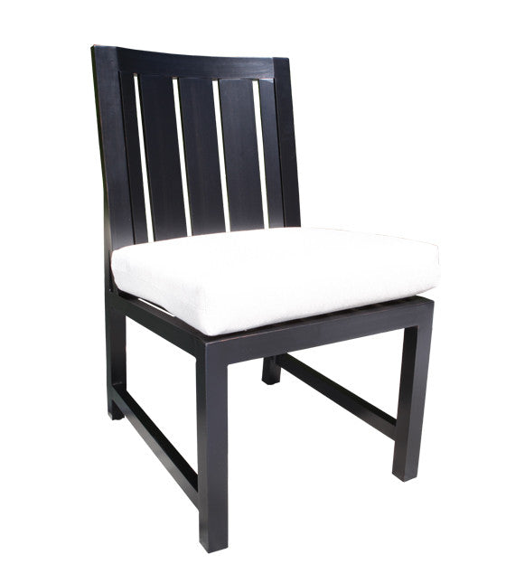 Venice Dining by Cabana Coast - Side Chair - Dark Rum