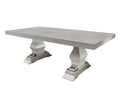 "Venice 84"" Dining Table by Cabana Coast - Dove"