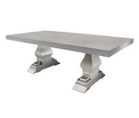 "Cabana Coast 84"" Venice Dining Table - Dove"