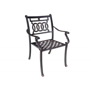 Verona Dining Armchair by Cabana Coast - Black