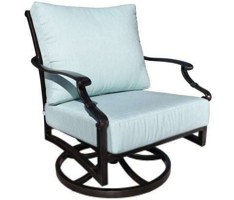 Verona Deep Seat Swivel Rocker Chair