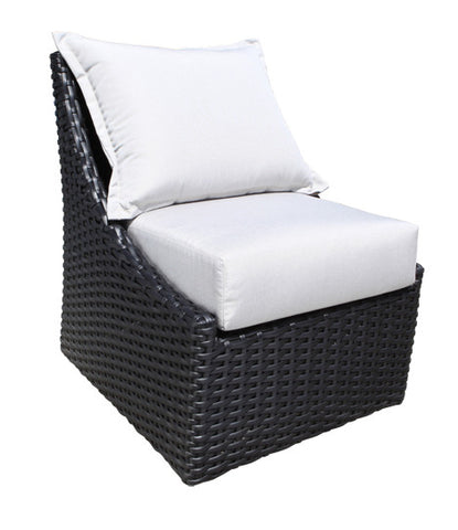 York Deep Seat Accent Chair by Cabana Coast - Black