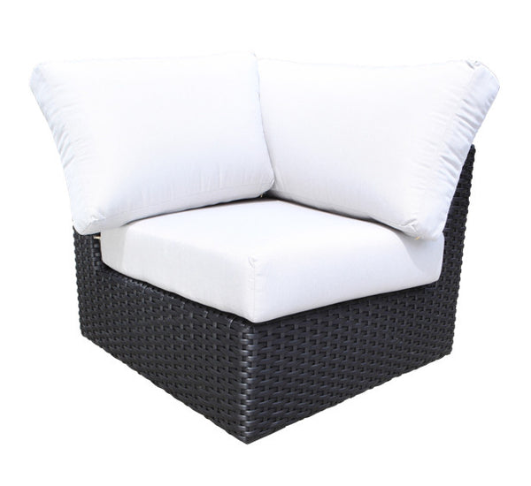 York Sectional Corner Module by Cabana Coast - Black