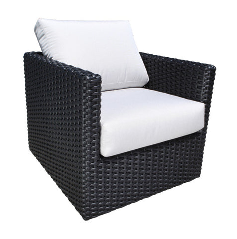York Deep Seat Lounge Chair by Cabana Coast - Black