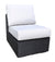 York Sectional Slipper Chair by Cabana Coast - Black