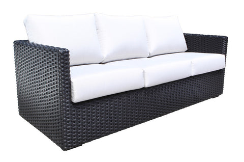 York Deep Seat Sofa by Cabana Coast - Black