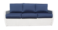 Zen Sofa Pearl Frame Front View