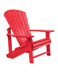 Recycled Plastic C01 Adirondack Chair by C.R.Plastic