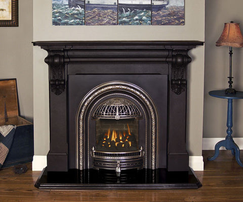 Valor Windsor Arch Gas Fireplace - Log Set