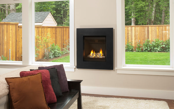 Valor Ledge Portrait Gas Fireplace