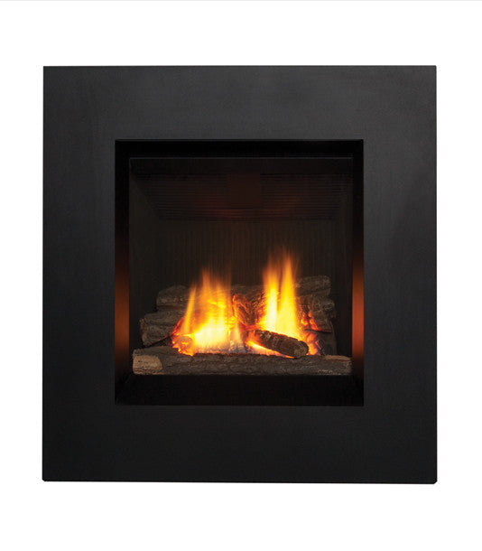 Valor Ledge Portrait Gas Fireplace - Log Set
