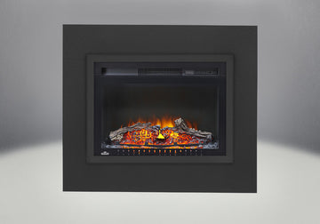 "29"" Cinema Log Napoleon Electric Fireplace"