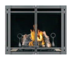 Napoleon HD35 Clean Face Gas Fireplace With Double Doors