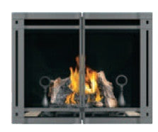 Napoleon HDX40 Clean Face Gas Fireplace - With Double Doors