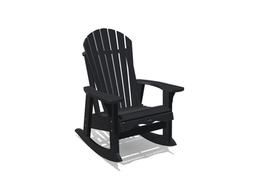 Krahn Adirondack Patio Rocker Small