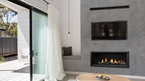 Marquis Serene gas fireplace with heat shift