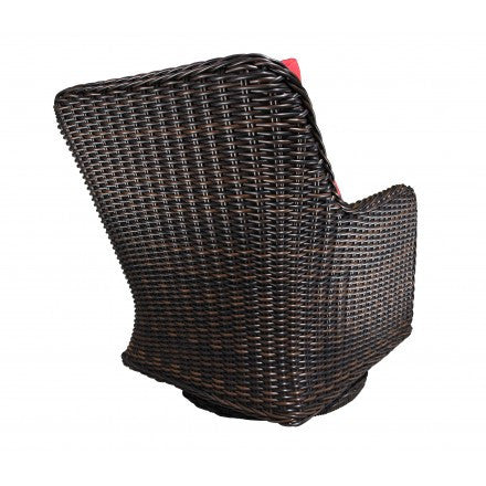 Dune Deep Seat Swivel Glider Rear View