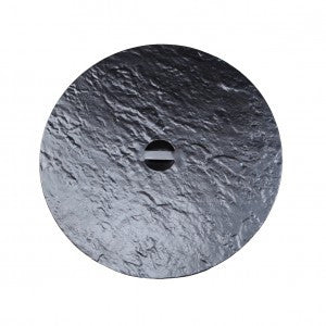 Venice Round Outdoor Firepit Cover by Cabana Coast - Dark Rum
