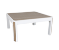 "Deco 34"" Square Coffee Table"