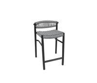 Baybreeze Cast Aluminum and Rope Deluxe Patio Furniture by Cabana Coast.