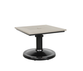 "Skye 24"" Square Pedestal Side Table"