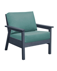Tofino Deep Seat Chair Slate Grey