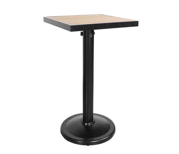 "Kensington 24"" Square Pedestal Bar Table"